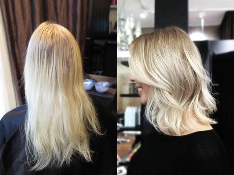 Blonda Frisyrer Med Slingor